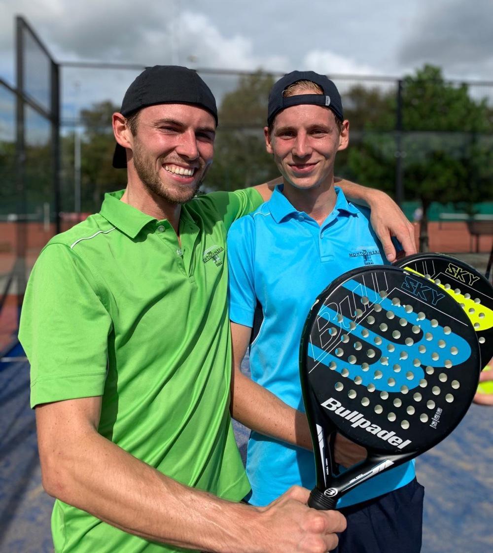 Huck en Zeb de Haas, Clubkampioen